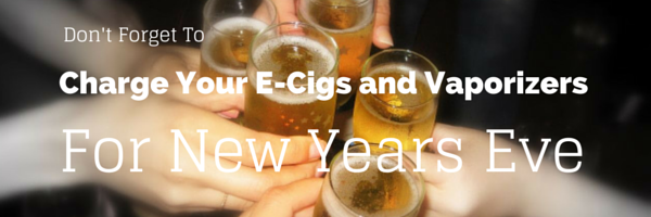 Charge Your E-Cigs and Vaporizers